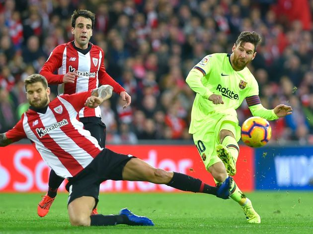 FBL-ESP-LIGA-ATHLETIC BILBAO-BARCELONA