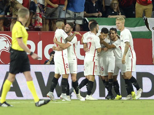 Sevilla 3 0 Real Madrid Report Ratings Reaction As Dominant Sevilla Embarrass Los Blancos 90min