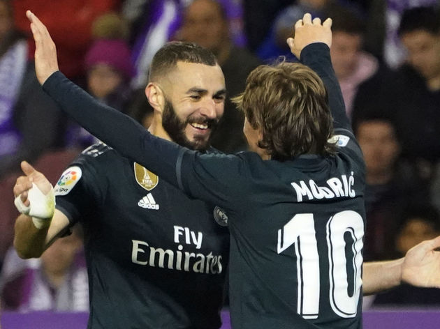 FBL-ESP-LIGA-VALLADOLID-REAL MADRID