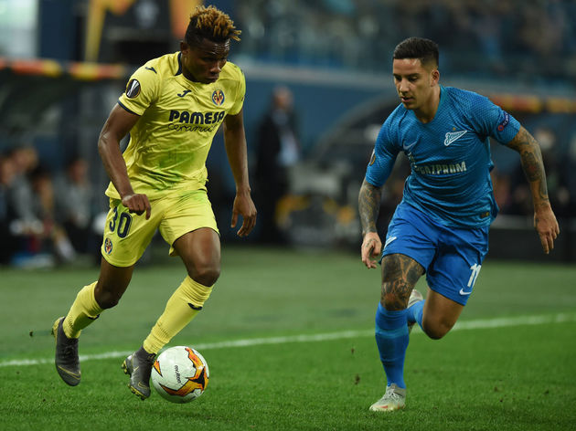 0edfc9dd5c3 FBL-EUR-C3-ZENIT-VILLARREAL. Chukwueze s performances ...
