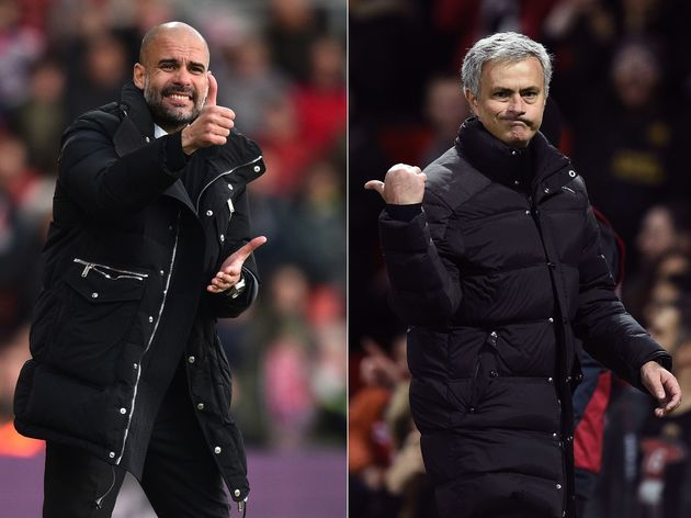 FBL-FILES-ENG-PR-MAN UTD-MAN CITY-MOURINHO-GUARDIOLA