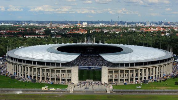 FBL-GER-ESP-HERTHA BERLIN-REAL MADRID-FRIENDLY-STADIUM