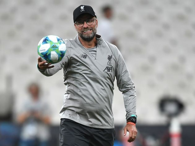 FBL-TUR-SUPERCUP-LIVERPOOL-TRAINING