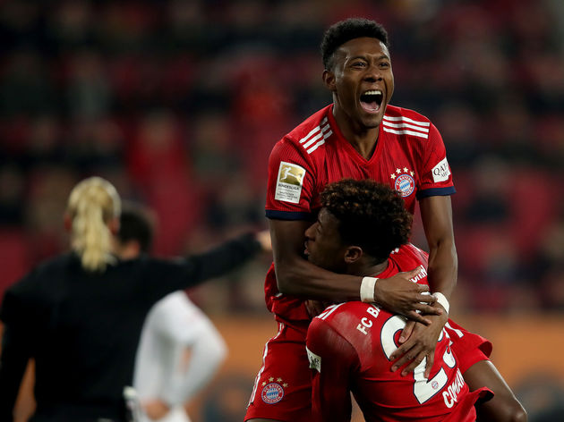 David Alaba,Kingsley Coman
