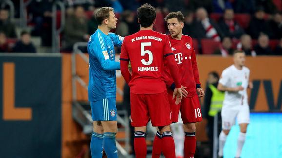 Manuel Neuer,Mats Hummels,Leon Goretzka