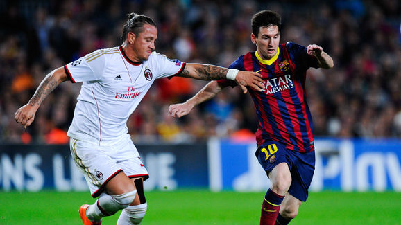 Philippe Mexes,Lionel Messi