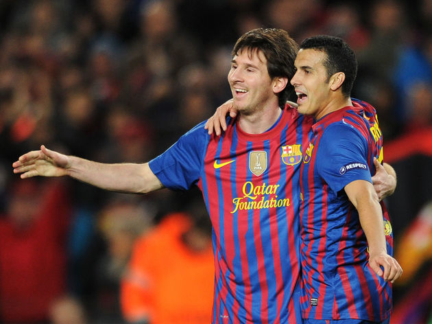 Lionel Messi,Pedro Rodriguez