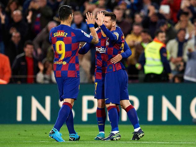 Lionel Messi,Luis Suarez,Antoine Griezmann