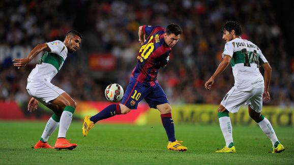 Lionel Messi,Jonathas Cristian,Jose Angel