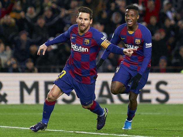 Lionel Messi,Ansu Fati