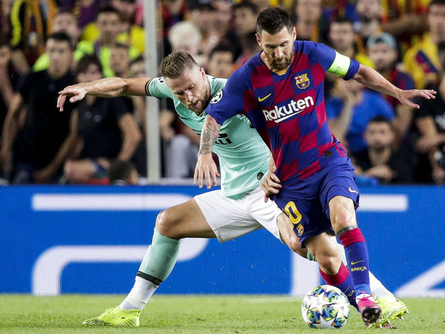 Lionel Messi,Milan Skriniar