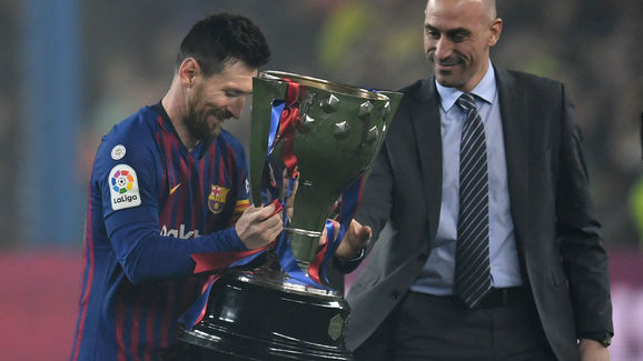 Luis Rubiales,Lionel Messi