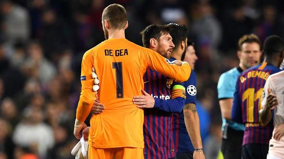 Lionel Messi,David De Gea