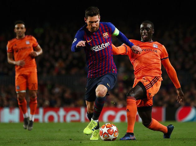 Lionel Messi,Ferland Mendy