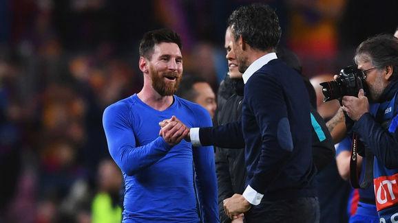 Luis Enrique,Lionel Messi