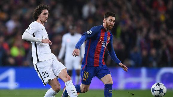 Adrien Rabiot,Lionel Messi
