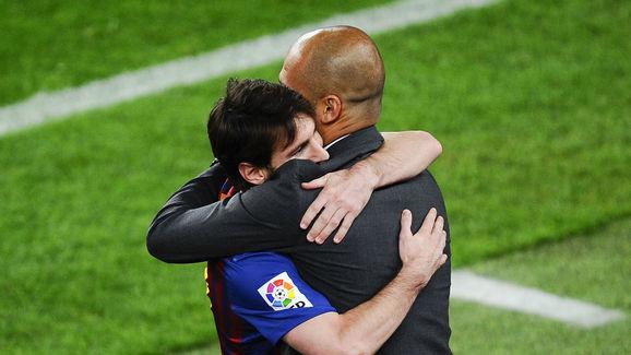 Lionel Messi,Josep Guardiola