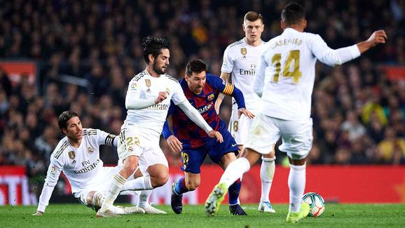 Lionel Messi,Sergio Ramos,Francisco Alarcon 'Isco',Toni Kroos,Carlos Casemiro