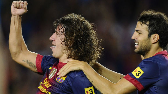 Carles Puyol,Cesc Fabregas
