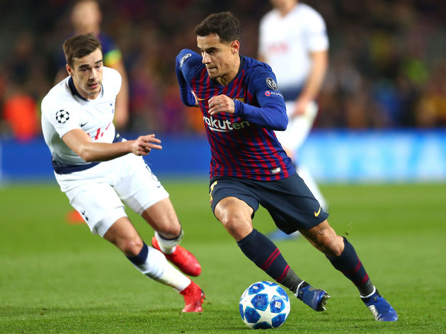 Philippe Coutinho,Harry Winks