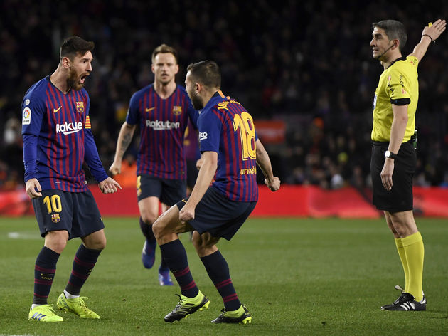 Lionel Messi,Jordi Alba,Ivan Rakitic