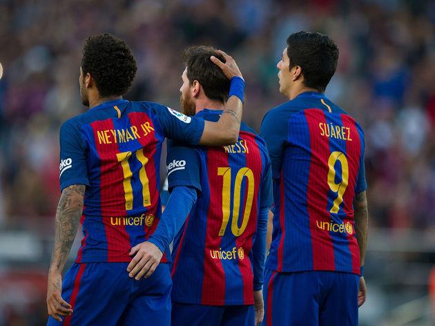 Lionel Messi,Neymar,Luis Suarez