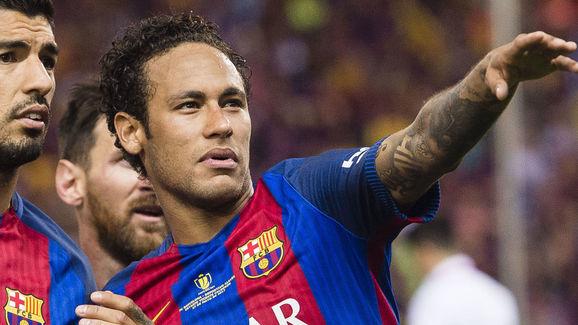 Luis Suarez,Neymar da Silva Santos Junior
