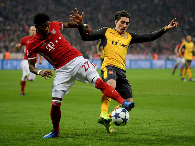 David Alaba,Hector Bellerin
