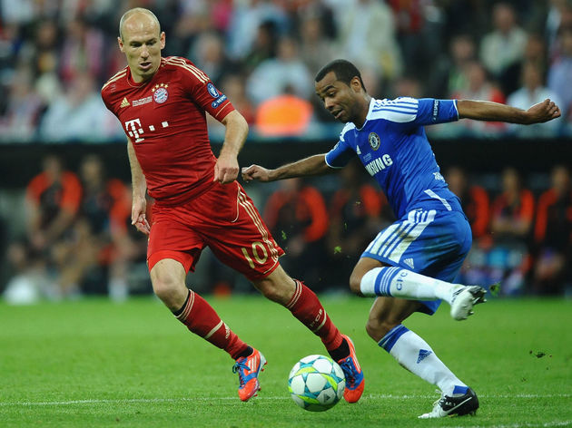 Arjen Robben,Ashley Cole
