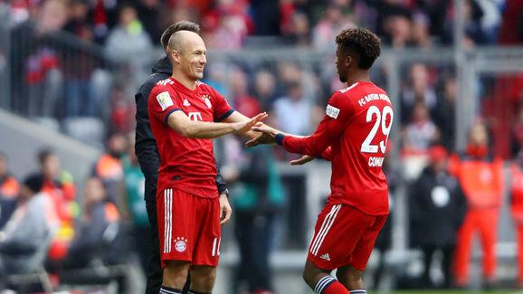 Kingsley Coman,Arjen Robben