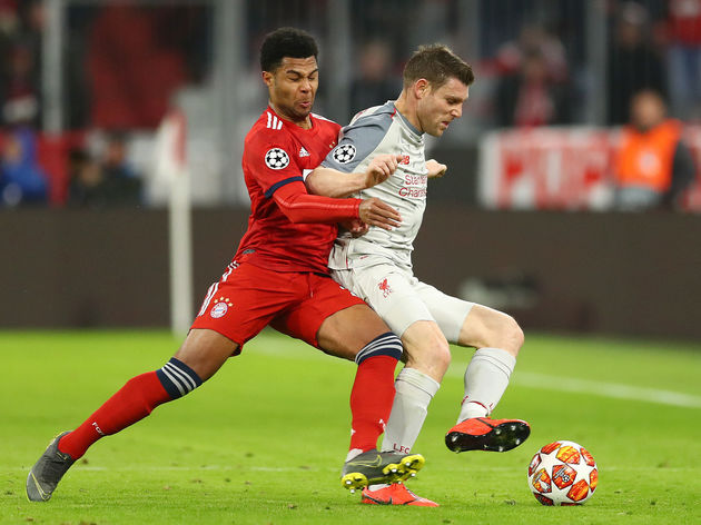 James Milner,Serge Gnabry