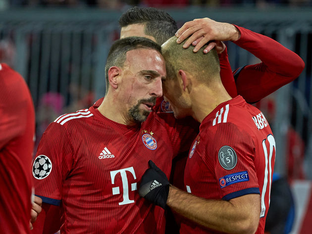 819a2f5e5 Why Arjen Robben s Vintage Performance Fails to Mask Bayern Munich s ...