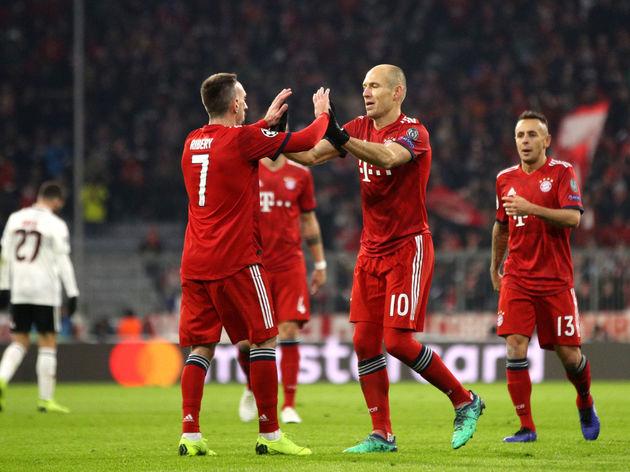 Arjen Robben,Rafinha,Franck Ribery