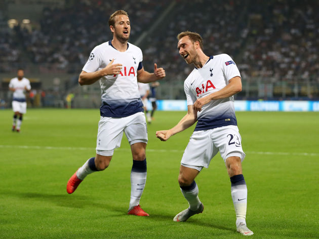 Christian Eriksen,Harry Kane