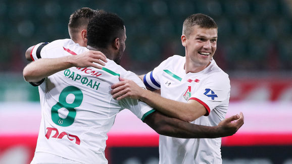 FC Lokomotiv Moscow vs FC Anji Makhachkala - Russian Premier League