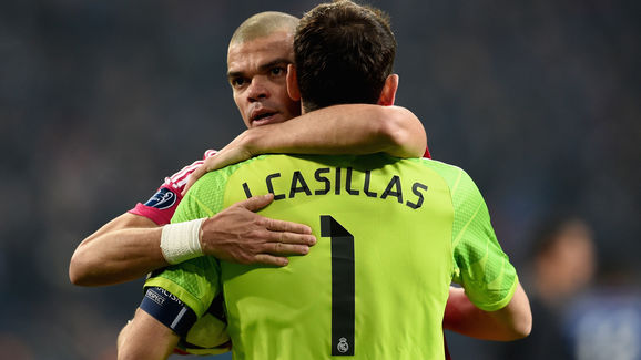 Pepe,Iker Casillas