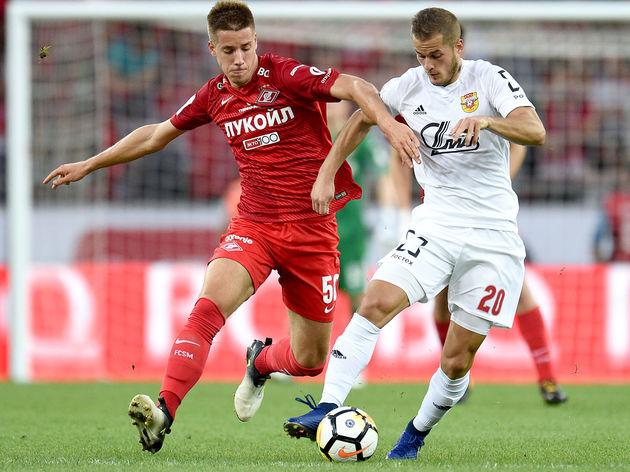 FC Spartak Moscow vs FC Arsenal Tula - Russian Premier League