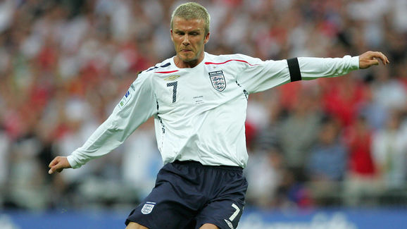 (FILES) England footballer David Beckham