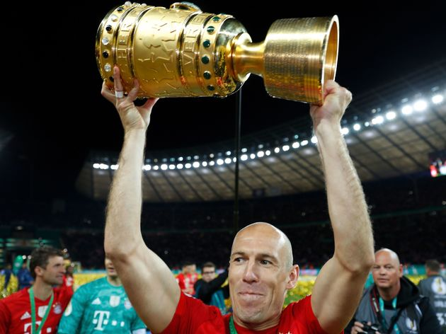 FILES-FBL-GER-CUP-LEIPZIG-BAYERN MUNICH-TROPHY