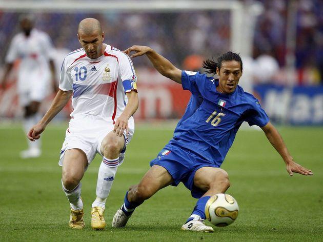 Zinedine Zidane,Mauro Camoranesi