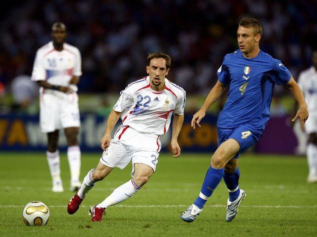 Frank Ribery,Daniele De Rossi
