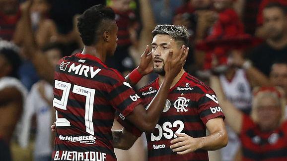 Arrascaeta,Bruno Henrique