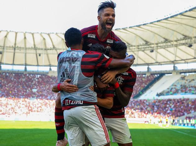 Bruno Henrique,De Arrascaeta,Vitinho,Diego