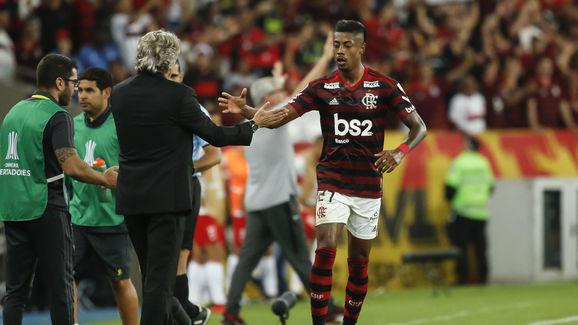 Bruno Henrique,Jorge Jesus