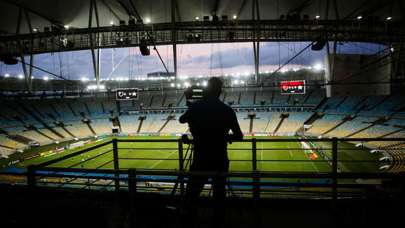 Flamengo v Portuguesa Play the Carioca State Championship With Closed Doors as a Precautionary Measure Against the Coronavirus