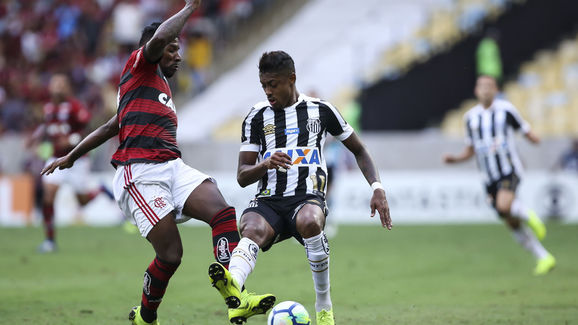 Flamengo v Santos - Brasileirao Series A 2018