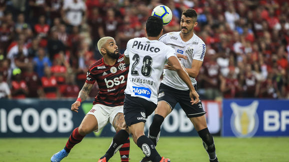 Gabriel Barbosa,Lucas Verissimo,Gustavo Henrique