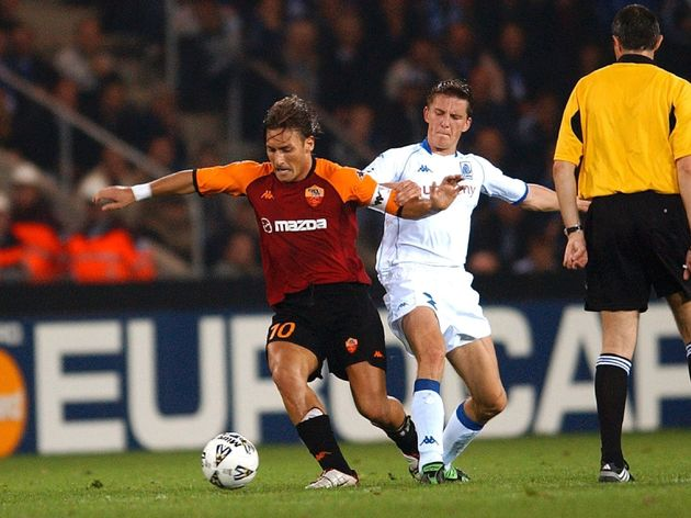 Foot : Champ.League / Krc Genk - As Roma