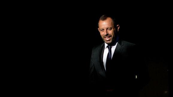 Former FC Barcelona President Sandro Rosell In Court Over Neymar Signing