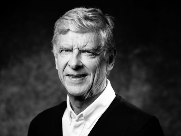 FRANCE-FBL-FRA-WENGER-PORTRAIT-BLACK AND WHITE
